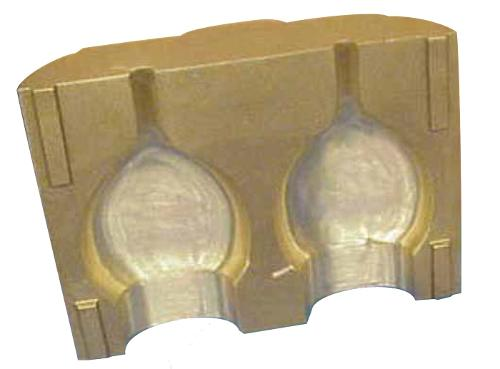 Bottle mould & bottom plate