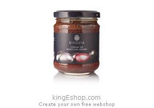 Tapenade d'olives noires Chinata