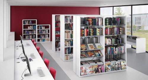 Rayonnages bibliothèques R-Lib