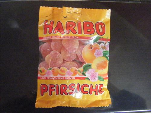 HARIBO Haribo candies flavoured Peach Gums