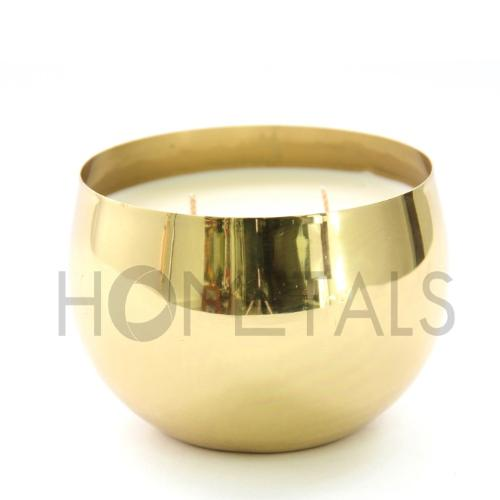 Wholesale scented candle in metal container