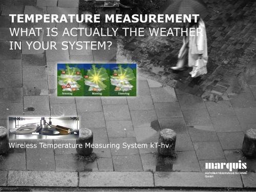 Kabellose Temperaturerfassung für Hochvakuum-Anwendungen (kT-hv)
