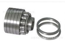 Helical spring bearing