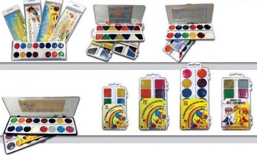 321310 - Watercolor paints for school