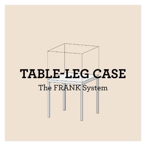 FRANK Tischvitrinen // Table leg case