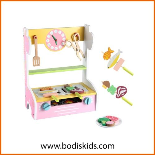 DIY kids cosplay wooden toys educational toys for children
