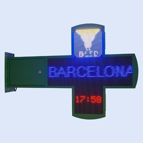 Croix de pharmacie LED programmable