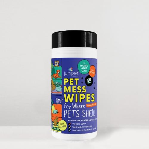Juniper Clean Pet Mess Wet Wipes