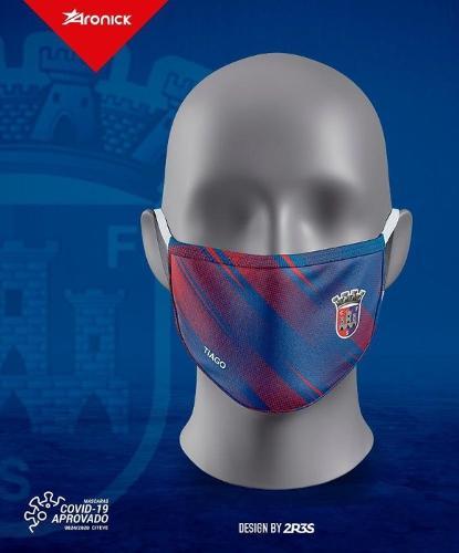 Mascara reutilizável certificada