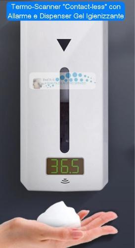 Termo-Scanner - Rilevatore Temperatura Corporea- TSC-DIS01