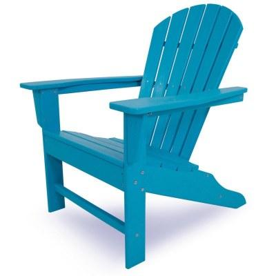 CASA BRUNO South Beach silla Adirondack, HDPE poly-madera, a