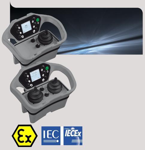 Télécommande joystick ATEX IECEx