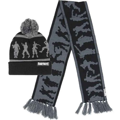 Wholesaler kids clothing cap and scarf Fortnite