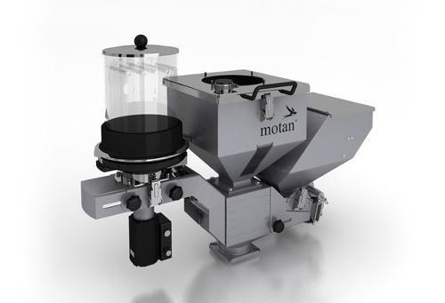 Volumetric dosing and mixing unit - MINICOLOR V