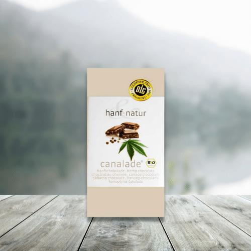 CANNALADE Schokolade - Vollmilchschokolade mit Bio-Hanf
