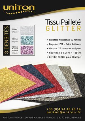 GLITTER - Tissu Pailleté