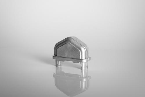 Aluminium Zaunkappen