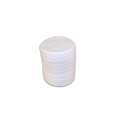 Filtres en fibre de verre pour dessiccateur (paquet de 200)