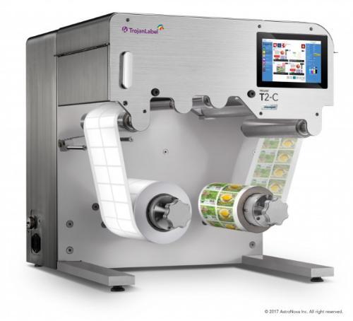 T2-C Etikettendruckmaschine als Tischgerät