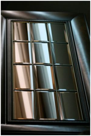 Stained glass window for furniture C6