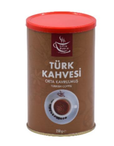 Kahve Tiryakisi Orta Kavrulmuş Türk Kahvesi 250 Gr