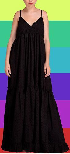 black shifli dress