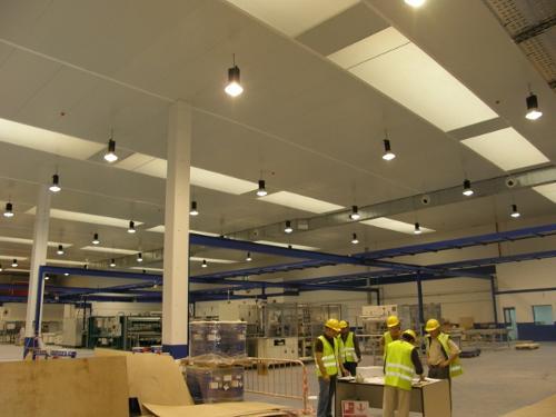 Instalación de Salas de Climatización, Frío Industrial,