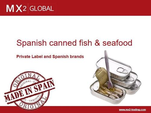 Spanish Frozen and Canned Fish & Seafood