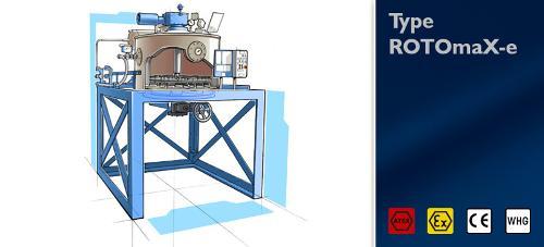 Distillation unit Type ROTOmaX-e