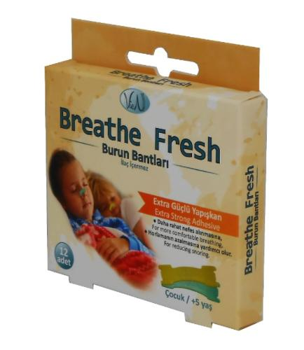 Vien Breathe Fresh Nasal Strips For Kids
