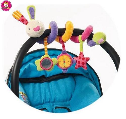 newborn infant pram activity spiral stroller toy cot crib