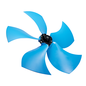 SR Silent sickle profile axial impellers