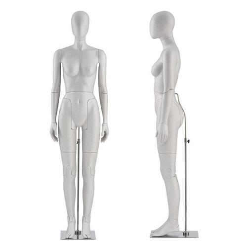 Mannequin de vitrine femme flexible