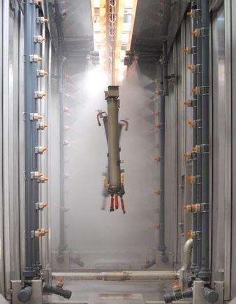 Tunnel de traitement (TTS) et cuves