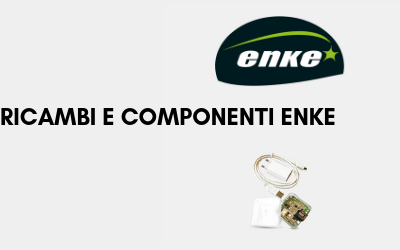 Ricambi e componenti per impianti Enke e universali