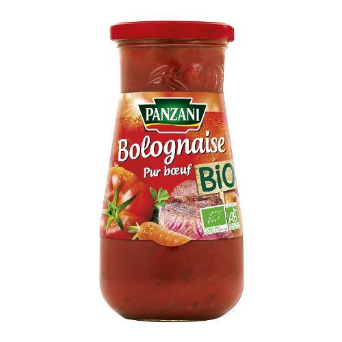 Sauce bolognaise bio 390g - PANZANI