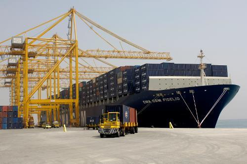 Dc Motors For Ship To Shore Cranes