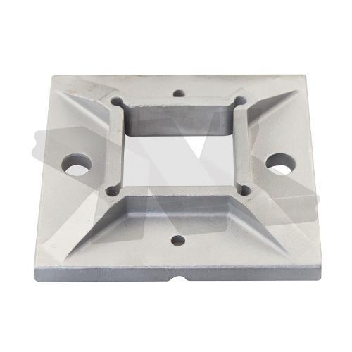 Baluster flange plate, square