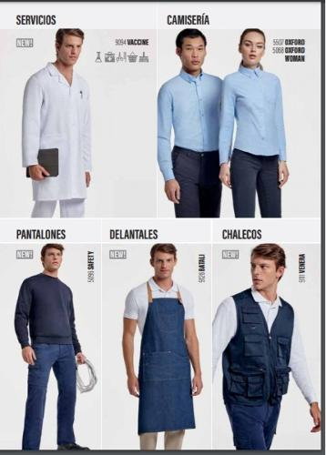 uniformes laborales