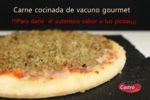 Carne cocinada vacuno gourmet