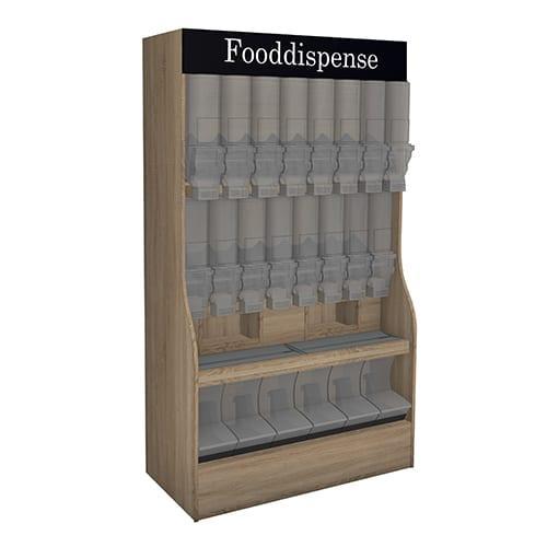 Less Packaging, Dispenser Cabinet