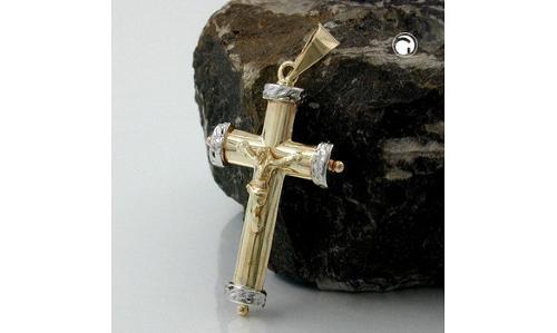 Pendentif croix avec le christ