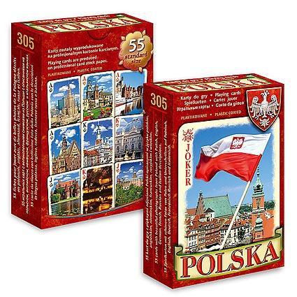 Pamiątkowe karty do gry Polska