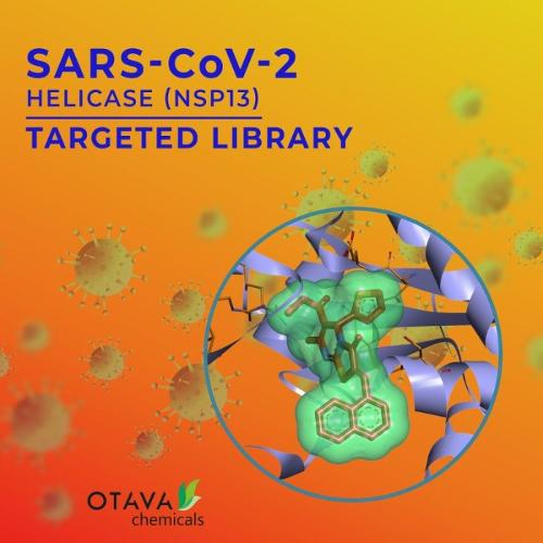 SARS-CoV-2 Helicase Targeted Library