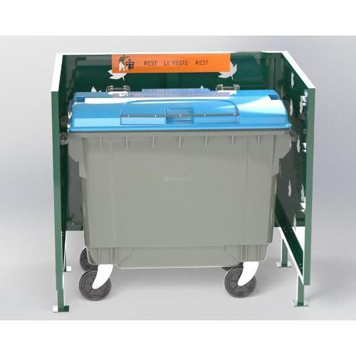 Cache Poubelle Conteneur Automne En U Recyclage Reste