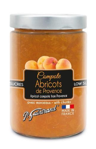 Compote d'Abricot allegee en sucres