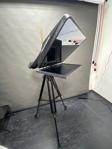Remote-controlled Teleprompter