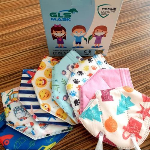 Dětská jednorázová dětská maska FFP2 pro děti