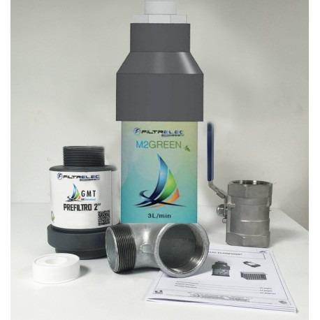 Kit filtre à eau capteur d'huile diélectrique végétale