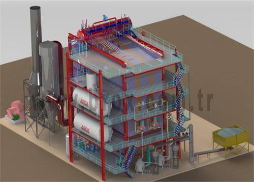 Water Tube Steam Boiler